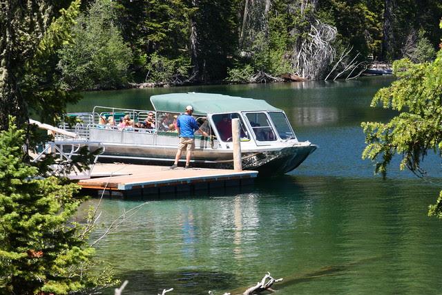 Shuttle Boat on Jenny Lake