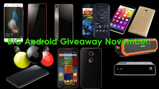 BIG Android November Giveaway!