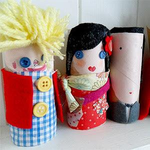 Manualidades sencillas para niños. Cómo hacer divertidas marionetas