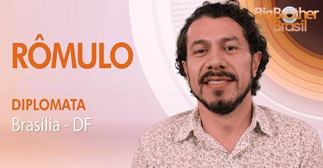 """Rômulo, segundo participante do """"BBB17"""" (Foto: Globo/Divulgação)"""