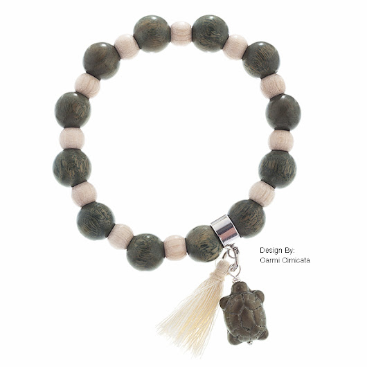 Brazilian Wood Bead Bracelet | Welcome to the Blog for John Bead Corporation  Beads, Crystals, Components and Carnival