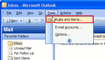 et auto reply outlook express 5