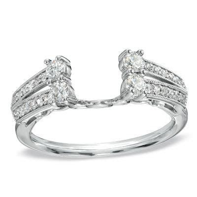 1/2 CT. T.W. Diamond Solitaire Enhancer from Zales   Omg