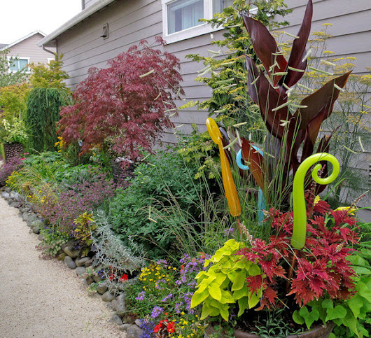 Make Your Garden Sparkle With Glass Art