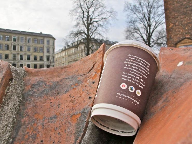 Copenhagen cup litter
