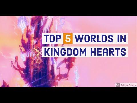 Top 5 Kingdom Hearts World's