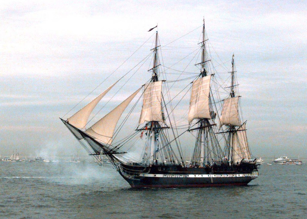 USS Constitution Massachusetts Bay 1997