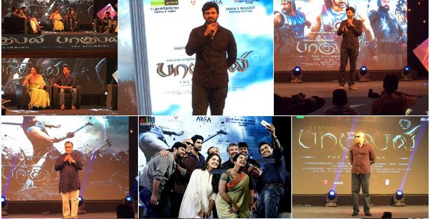 Suriya launches Baahubali Tamil Trailer