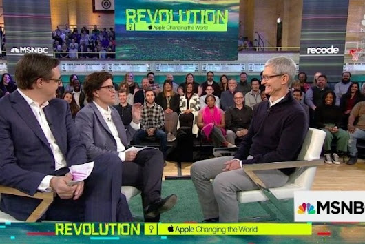 Tim Cook discusses privacy, regulation, U.S. manufacturing, and education | Macworld