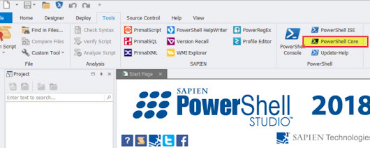 SAPIEN Technologies on Windows PowerShell and PowerShell Core