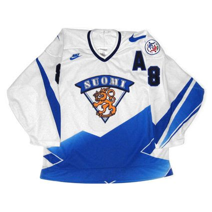 Finland 1996 WC jersey photo Finland 1996 WCOH F.jpg