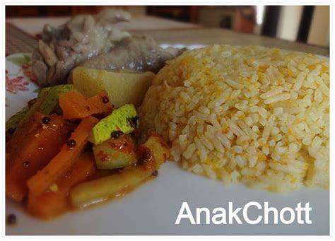 cookbook nasi lobak merah nasi carrot