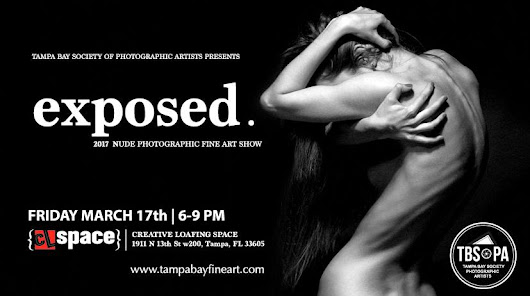 TBSOPA ANNOUNCES ITS ARTIST LINE UP FOR EXPOSED: A NUDE FINE ART SHOW IN YBOR