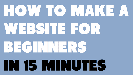 How To Make A Website For Beginners In 15 Minutes - Create WP Site