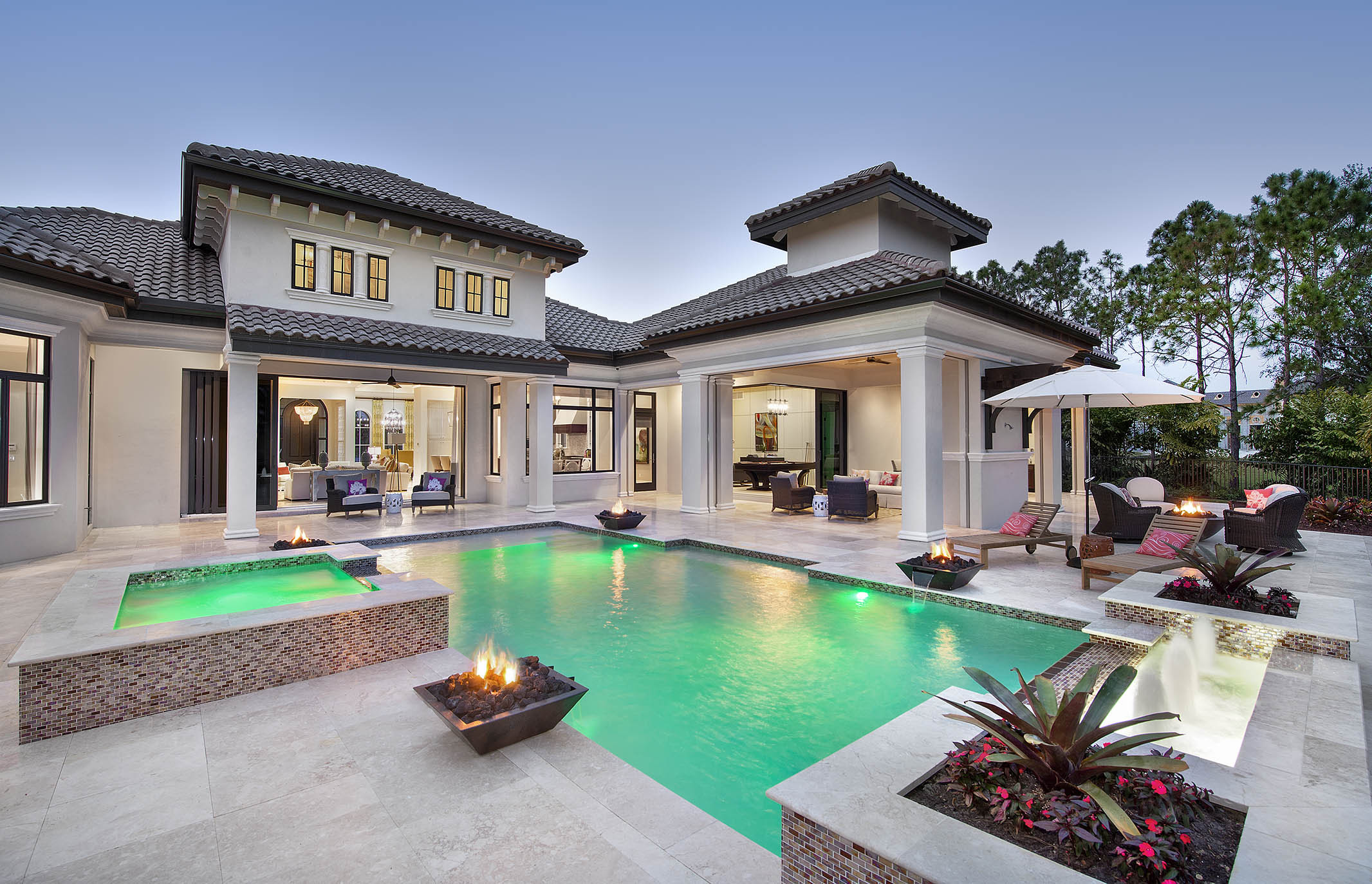 Naples Architect designs new golf course home