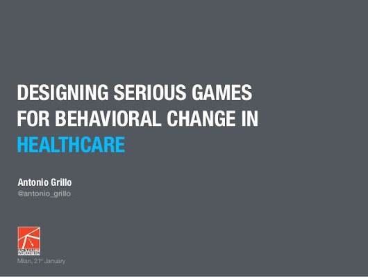 Designing Serious Game for Behavioral Change in Healthcare