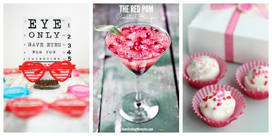 Valentines Day Ideas - Food & Crafts + Create & Crave - Pink Heels Pink Truck