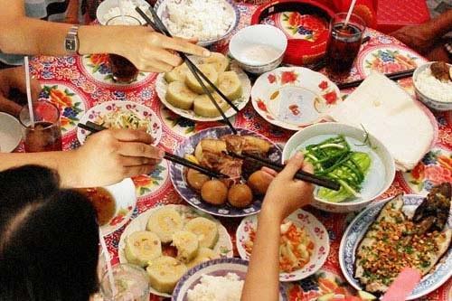 tiệc tùng, Tết, lãng phí, lương thực, thực phẩm, tiết kiệm