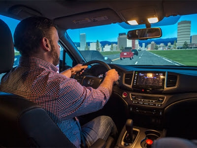 UAB News - First-of-its-kind driving simulator lab at UAB powered by donation from Honda Manufacturing of Alabama and ALDOT