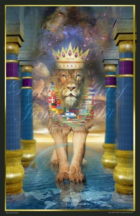 Prophetic Art by James Nesbit