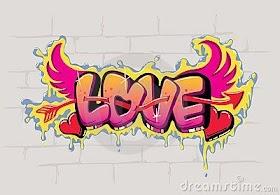 Grafiti Keren Love