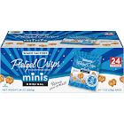 Snack Factory Pretzel Crisp Minis, Original - 24 count, 1 oz bags