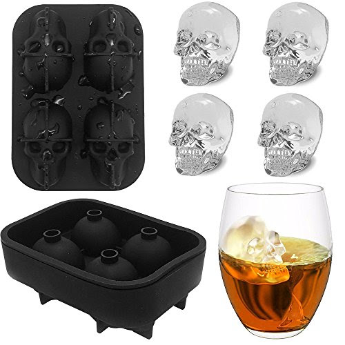 Review for Skull Ice Cube Tray KIDAC BPA-free Slicone Ice Cube Mold Maker Candy Chocolate M... - Nichole Shaw - Blog Booster