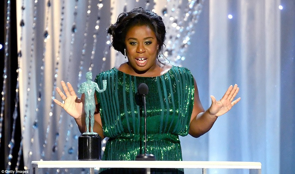 Winner: Uzo Aduba won for Outstanding Performance by a Female Actor in a Comedy Series for Orange Is The New Black