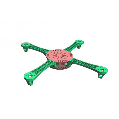 Light Weight Quad Copter