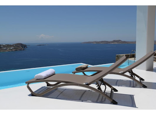 Villa Loli with pool, fantastic seaview in Mykonos