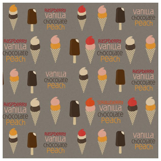 Ice Cream - Free Photoshop and Illustrator Patterns - 365psd