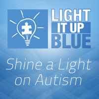 Find out how you can shine a light on autism: