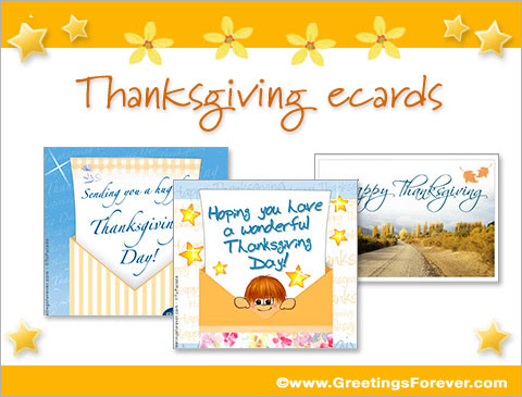 Thanksgiving eCards, thanksgiving egreetings, Thanksgiving