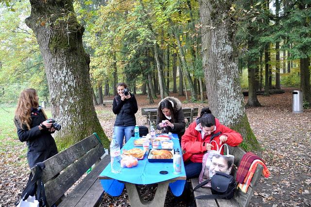 Picnic con las bloggueras suizas