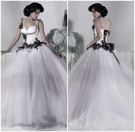 Cheap Gothic Wedding Dresses   Wedding and Bridal Inspiration