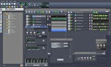 sample browser, Song-Editor, Beat+Bassline-Editor and some controllers