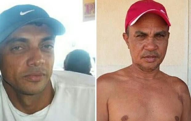 Pescadores, Manoel Anxieta Rodrigues e Francisco Antônio Rodrigues são procurados  (Foto: Divulgação/Colônia de Pescadores de Areia Branca)
