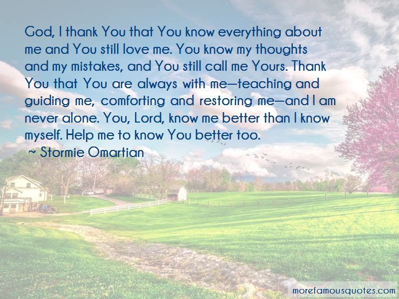 Thank You Lord God For Everything Quotes Top 1 Quotes About Thank
