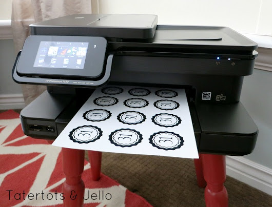 16 FREE Printables - and Win an HP Photosmart 7520 Color All-In-One Printer Pack (Over $200 value!) -- Tatertots and Jello