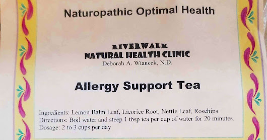 Allergy Support Tea