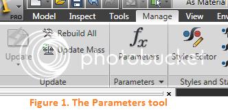 Autodesk Inventor Tutorials Linking Parameters Between