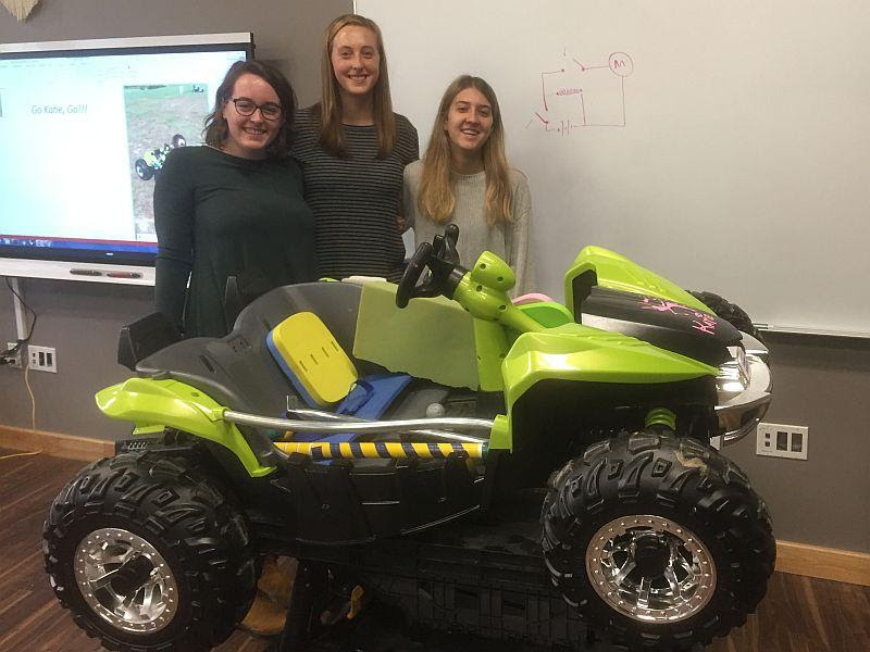 St Michael s Students Turn Kids Cars Into Mobility Devices