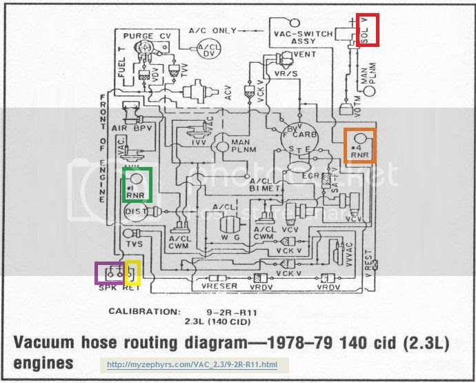 1979 2 3 Turbo Vacuum Lines Page 2