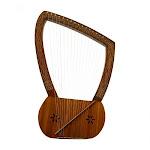 Lyre Harp With Nylon Case, 16 String
