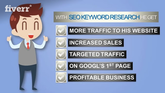 seoexpert6 : I will do SEO keyword research in depth for $10 on www.fiverr.com