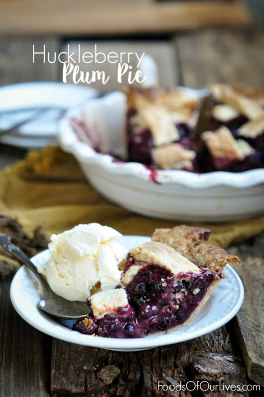 Huckleberry Plum Pie