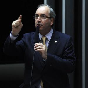 O deputado Eduardo Cunha (PMDB-RJ), durante sessão na Câmara dos Deputados