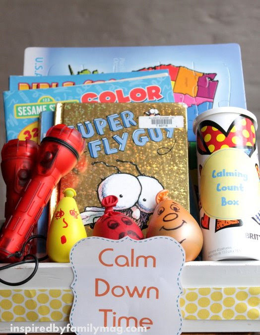 Calm Down Kit for Kids & Activities