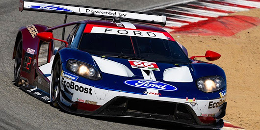 Ford GT Cars Finish 6th, 7th At Laguna Seca | Ford Authority