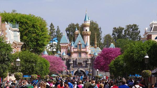 Disneyland, Main Street USA, Sleeping Beauty Castle